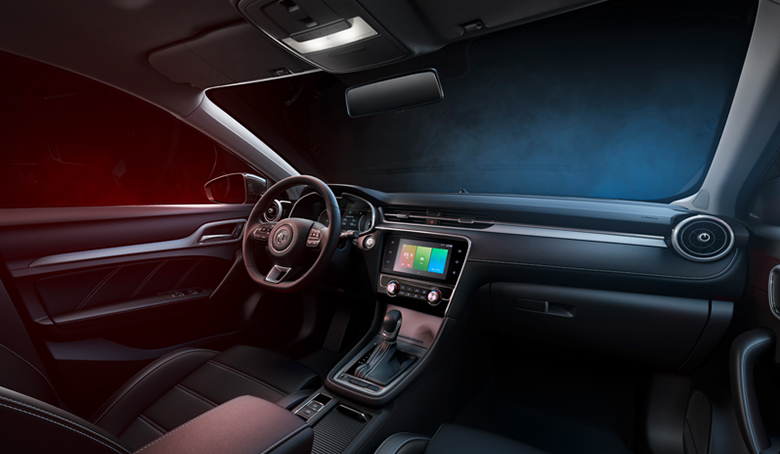 New MG 6 interior